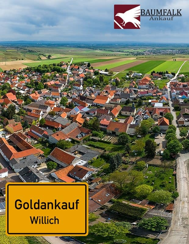 Goldankauf in Willich bei BAUMFALK-Ankauf